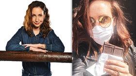 Veronika Arichteva proti koronaviru bojuje humorem: Rouška má netušené výhody!