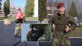 Získejte během karantény formu jako voják: Výsadkáři radí, jak si doma zacvičit