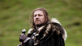 Ned Stark ze Hry o trůny: Opilecká potyčka s manželkou v letadle!