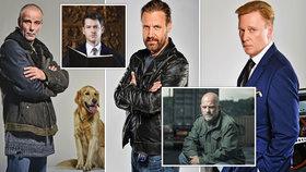 10 nejcharismatičtějších herců českého showbyznysu! Najdete mezi nimi i svého oblíbence?