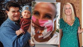 Smutná vzpomínka Pizingerové: Roušky nosila naposledy v době, kdy jí umírala dcera!