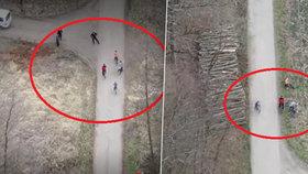 Čtyři cyklisté vjeli do uzavřené oblasti na Olomoucku: Zatkla je policie!