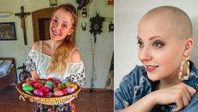 Anička Slováčková, která bojuje s rakovinou: Po Velikonocích musí na operaci!