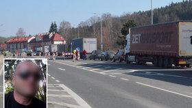 Zoufalý kamioňák Láďa (47): Bojím se vrátit domů, nechci přivézt nákazu! Bezpečnostní opatření jsou nulová