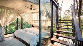 Splněný sen! Luxusní bydlení v korunách stromů s výhledem na divočinu