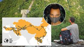 Martinovi koronavirus překazil cestu kolem světa. Domů se rodák z Pardubic teď bojí