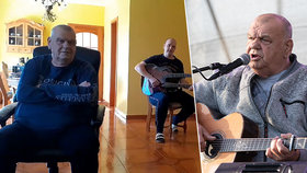 František Nedvěd (72) po operaci srdce: Poprvé zpíval! Přímo z obýváku
