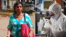 Novinářka psala o koronaviru: Skončila na policejní stanici