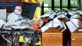 Přehled obětí pandemie v Česku: Koronaviru podlehlo  již šest mužů a tři ženy