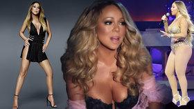 Královna obřích výstřihů slaví 50! Díky čemu už Mariah Careyová nemusí pracovat?