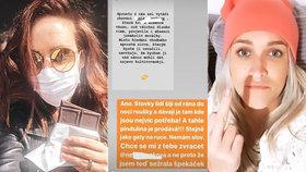 Veronika Arichteva vzkazuje Slovákové a jejím rouškám: Chce se mi z tebe zvracet!