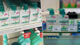Dezinfekce za cenu zlata: 250 ml za 750 korun v karlínské lékárně! Kontroloři jsou na ně krátcí