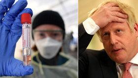 Britský premiér i ministr mají koronavirus. Johnson dostane jídlo za dveře, poradce utekl