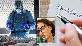 Šokující rada od vedení: Zdravotní sestra byla před směnou vyzvána, aby si připravila závěť