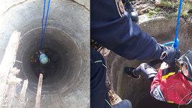 Na Šumpersku spadlo dítě do studny. Hasiči je vytahovali z pětimetrové hloubky!