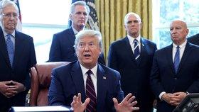 Trump zvažuje poslat celý New York do karantény. Guvernér: Prezident mi nic neřekl