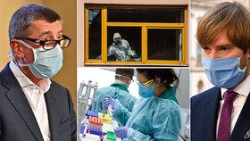 Koronavirus ONLINE: 16 mrtvých a 2743 nakažených v Česku. A další týden omezení pohybu