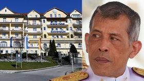 Nejluxusnější karanténa světa: Thajský král se skrývá v Německu s 20 milenkami!