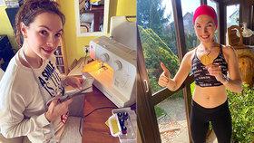 Kamila Nývltová uběhla půlmaraton doma! Těch 21 kiláků stálo za to, chlubí se