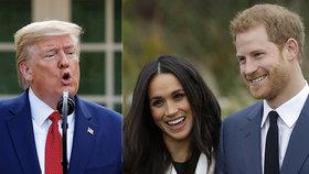 Ochranku si plaťte sami, vzkazuje Trump: Harry a Meghan mu to vrátili!