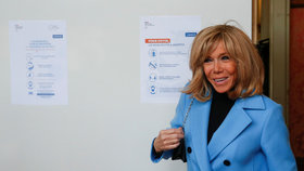 Macronová v karanténě oslavila 67. narozeniny. Chybí jí podpatky a zmínila testy