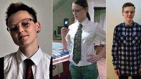 Kateřina (27) doma mluví v mužském rodě, manžel už se nediví! Jak se žije nebinárním lidem?