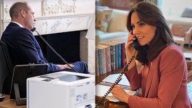 Jak to vypadá u Kate a Williama? Díky koronaviru odhalují svůj domov!