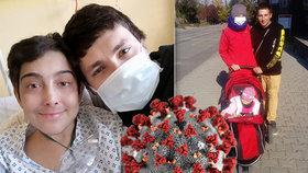 Maminka Dominika má po transplantaci poškozené plíce! Kvůli koronaviru neví, kdy dostane léčbu
