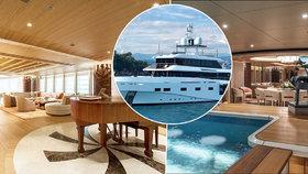 Izolace v luxusu: Jak vypadá karanténa na jachtě ruského miliardáře?
