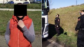 Žena prý nabízela kamioňákům sexuální služby bez povinné ochrany: Za styk bez roušky jí hrozí pokuta 20 tisíc korun