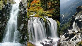 Česko, jak ho neznáte: 6 NEJ vodopádů z naší země