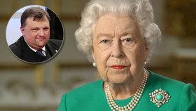 """""""Znovu se potkáme."""" Klíčová věta z projevu královny Alžběty II. zaujala i Forejta"""