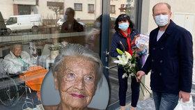 Narozeniny v karanténě LDN! Takhle oslavila 94 let filmová Lída Baarová