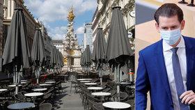 Rakousko po Velikonocích uvolní restrikce a otevře obchody. S rouškami ale přitvrdí