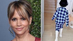 Halle Berryová v karanténě: Schytala to za syna v kozačkách!