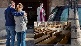 Děsivá realita ve Španělsku: 5 minut na pohřeb!