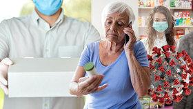 Senioři, došly vám léky? Kvůli koronaviru je může donést lékárna až do bytu, slibuje šéf lékárníků