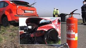 Zběsilá honička na Olomoucku: Policie stíhala řidiče (35), který způsobil několik nehod!