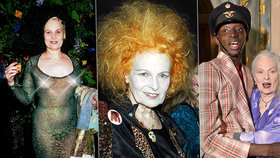 Královna punku Vivienne Westwoodová slaví 79: Vystavovala oholenou hlavu i zarostlý klín!