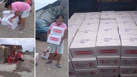 Nečekaná solidarita: Chudým Mexičanům posílají jídlo drogové kartely