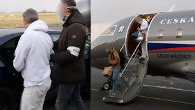 Zadrželi podnikatele Skořepu, který vytuneloval půl miliardy: Do Arábie pro něj letěl armádní speciál
