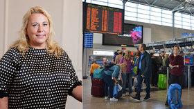 Ministryně Klára Dostálová (49) pro Blesk: Ve hře jsou smlouvy na zájezdy za 9 miliard