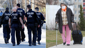 """Stařenka (101) na útěku: Z karantény v domově """"pláchla"""" za dcerou, chytila ji policie"""