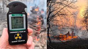 Okolí Černobylu děsí po požárech rostoucí radiace. Žhářům hrozí vysoké pokuty