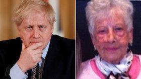 """""""Když jsme to porazili my, zvládnete to taky."""" Senioři (90) poslali Johnsonovi dojemný vzkaz"""