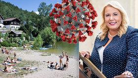 Lidem dáme poukázky na dovolenou v hodnotě 10 tisíc! Dostálová prozradila plán, jak nakopnout cestování po Česku