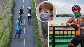 Hlavní hygienička pro Blesk: Pozor na hřbitovech, pokuty u cyklostezek a roušky i v létě