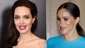 Plán vévodkyně Meghan: Angelina bude její učitelkou!