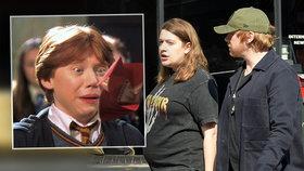 Ron z Harryho Pottera je táta! Má Rupert Grint kluka, nebo holku?