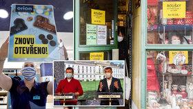 Autobazary a malé krámky? Vláda otevře další obchody. Chaos, peskují ministry obchodníci